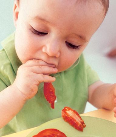 宝宝固体辅食的喂食策略