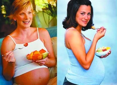 孕期吃得好健康两代人(图)