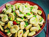 下酒菜葱油蚕豆
