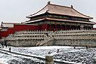 雪后紫禁城