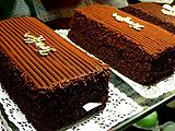 产量很少的巧克力糕点