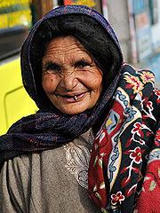 可爱的克什米尔老妈妈