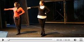 梅婷教老外跳中国舞