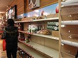 超市货品被抢购一空