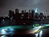纽约曼哈顿下城区陷入黑暗