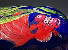 舞动的美人鱼:人体彩绘
