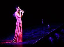 感受2010王菲演唱会的舞台光影