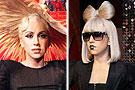Gaga八款蜡像全球曝光