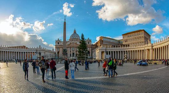欧洲 梵蒂冈圣彼得大教堂