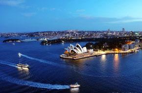 悉尼大桥上的最美时光
