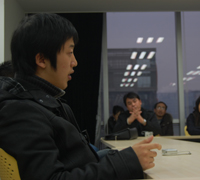 作者李云龙现场发言