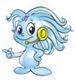 文博会吉祥物:小水滴