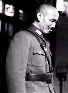 蒋介石下野之后的一次痛哭