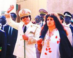 卡扎菲的婚姻同样传奇