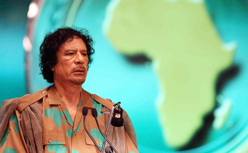 回顾卡扎菲另类一生:全球最潮男