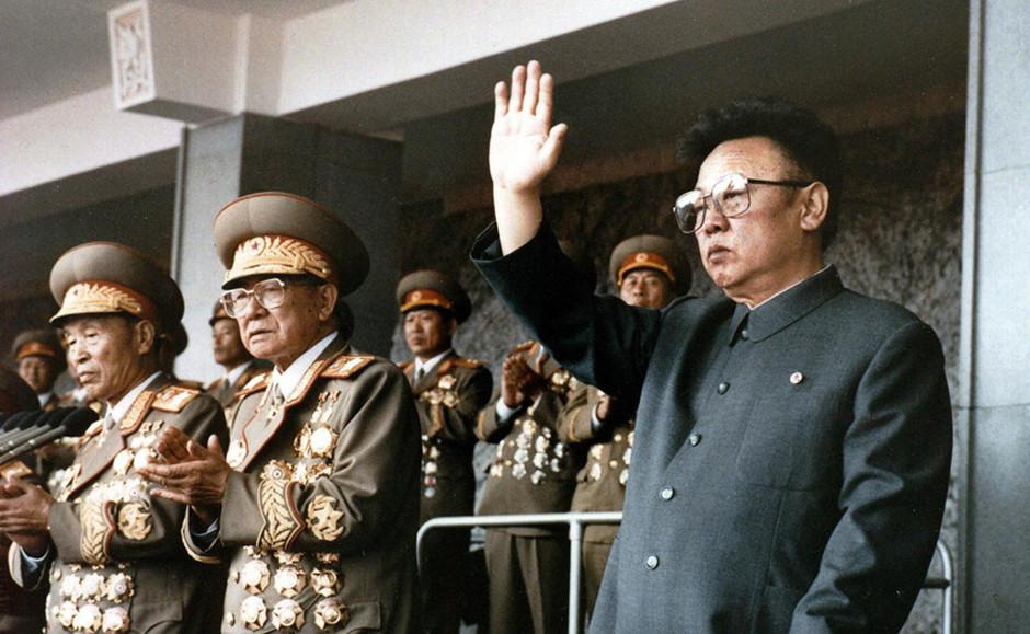 金正日出席朝鲜大阅兵典礼
