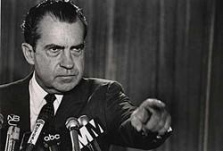 尼克松早就动了去中国的心思