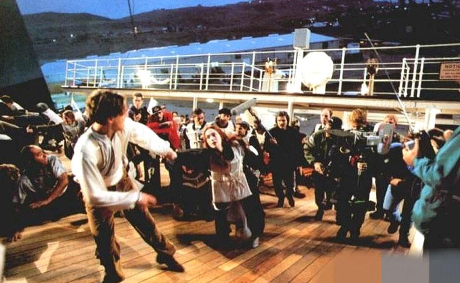 电影《泰坦尼克号》罕见拍摄幕后