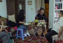 中方世界语者去往蒙古世界语者家拜访