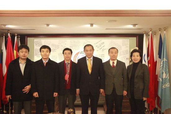 A Delegation of Korean Entrepreneurs Visit Beijing International Peace Culture Foundation