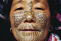 黎族的蛇祖传说与蛇纹文身