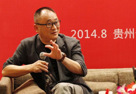 图注:中南出版传媒集团董事长龚曙光 摄影记者:殷建军