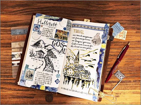 手账本-去旅行吧,带上一本轻手帐