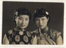 老照片:民国女子的旗袍风采