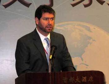 图为美国加利福尼亚大学圣·芭芭拉学院副教授白睿文