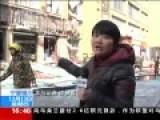 宁夏银川餐馆爆炸现场 碎玻璃飞出20米远