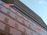 沈阳现13层纸画假大楼 中西合璧立体十足