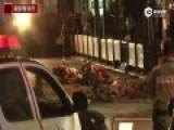 曼谷爆炸现场实时响声震天 行人奔逃