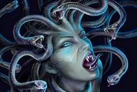 古希腊故事:蛇发女妖和蛇身女妖