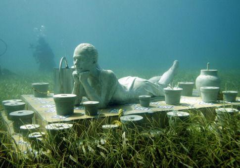 坎昆水下博物馆(墨西哥坎昆)