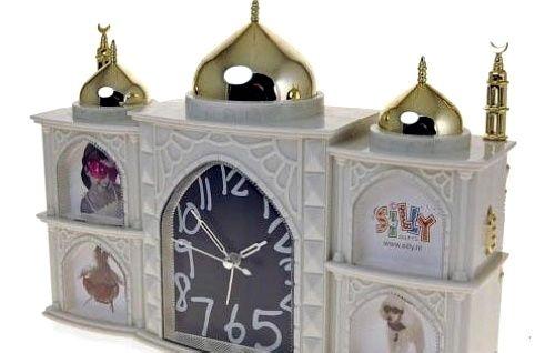 清真寺模型闹钟
