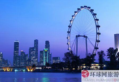 世界上最高的摩天轮:新加坡摩天观景轮