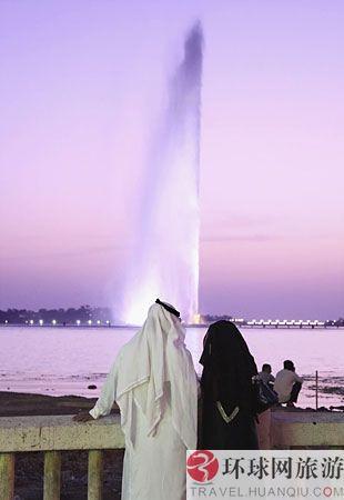 世界上最高的喷泉:沙特阿拉伯,法赫德国王喷泉