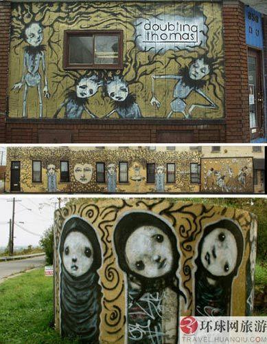 Scott Radke的俄亥俄公众艺术作品