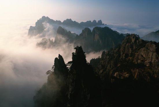 黄山,中国