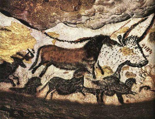 法国 拉斯哥洞窟壁画