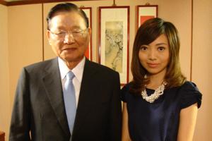 专访国民党副主席江丙坤