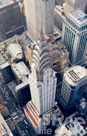 6. 克莱斯勒大厦(The Chrysler Building),是汽车制造业在美 国辉煌的标记。