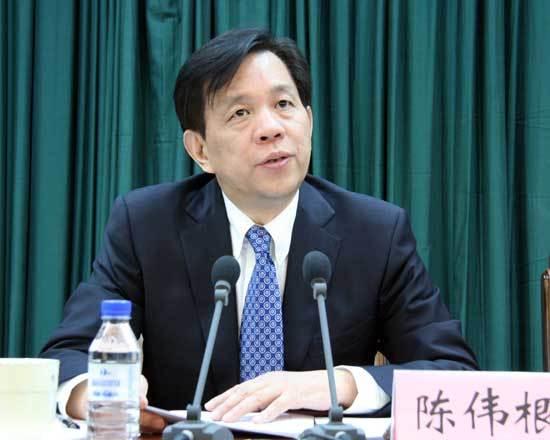 东北亚博览会执委会主任、吉林省副省长陈伟根发言