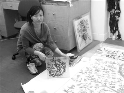 华人艺术家宋昕。