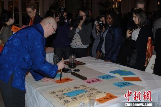 3月5日,杭州旅游推广活动在伦敦举行。