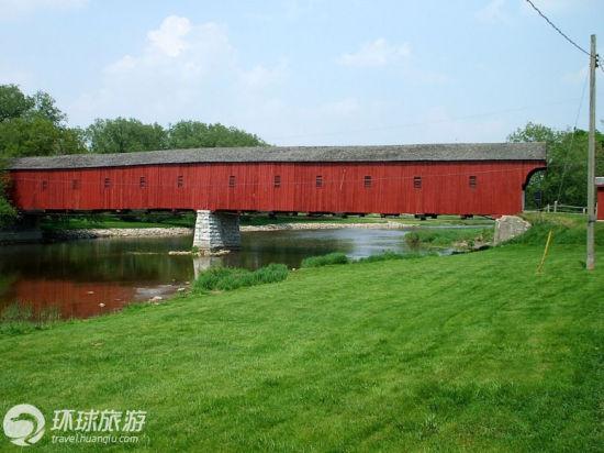 十三、吻桥(The Kissing Bridge,加拿大安大略省伍尔维奇)