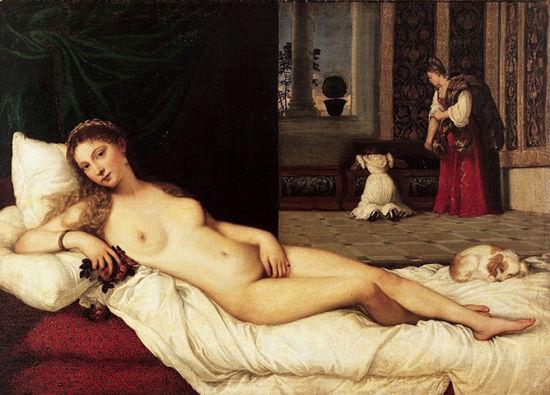 苗条版《 The Venus of Urbino》
