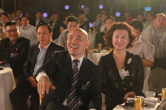 品牌中国秘书长王永与中企俱乐部程虹