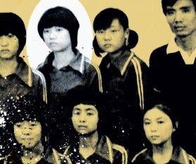 上高中時,鄧文迪是徐州一中排球隊隊員