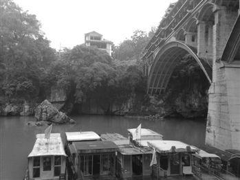 宜州清冷下枧河